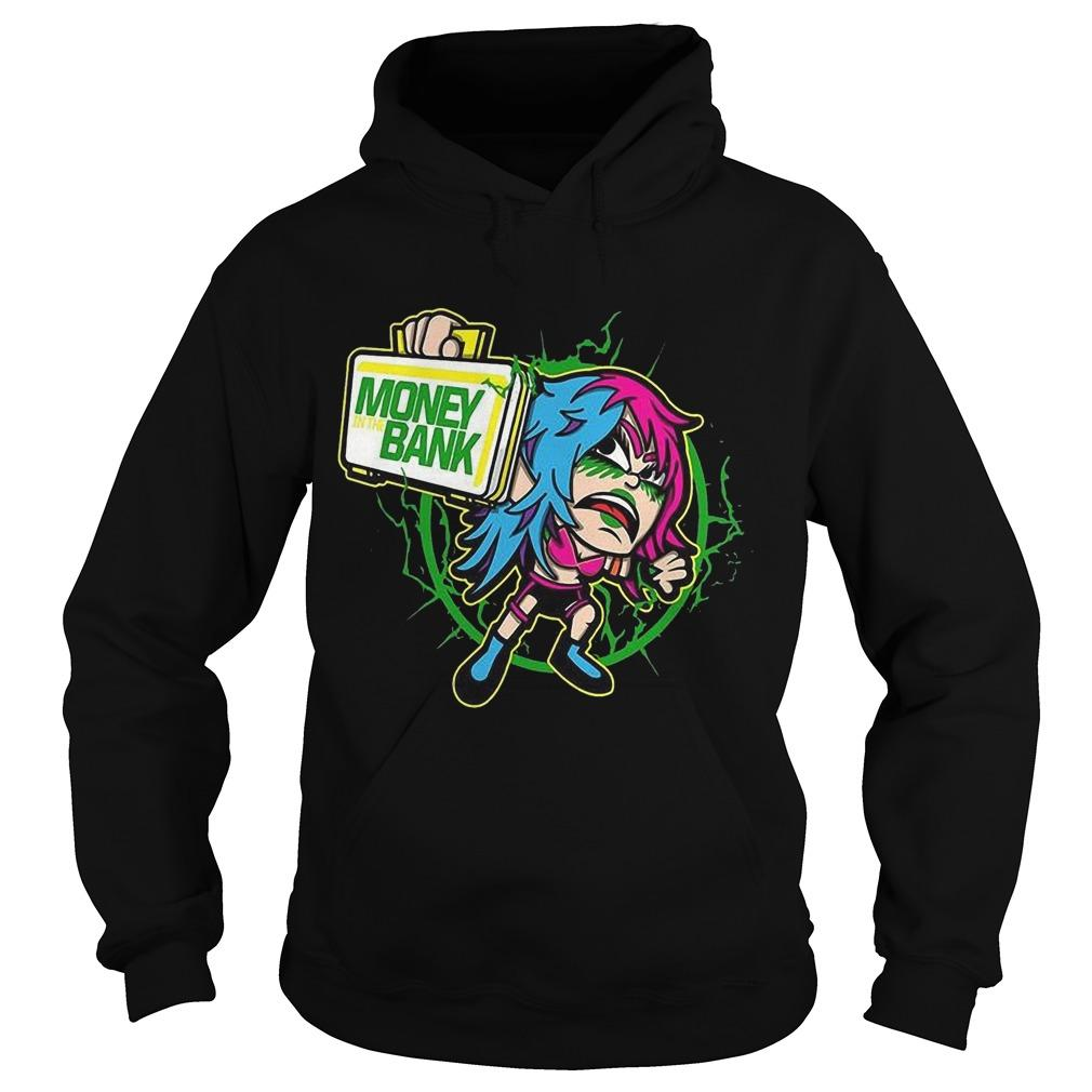 Wwe Asuka Money Bank Hoodie