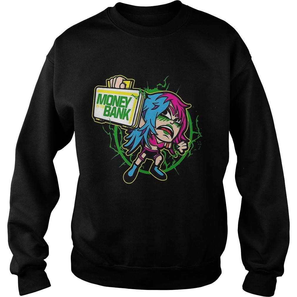 Wwe Asuka Money Bank Sweater