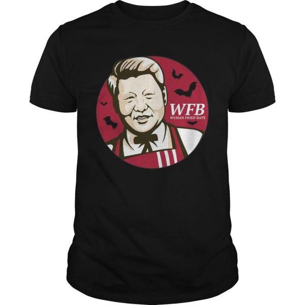 Xi Jinping Wuhan Fried Bats Shirt