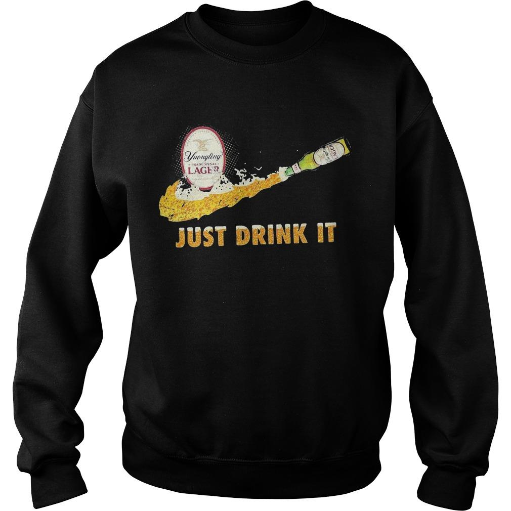 Yuengling Traditional Lager Just Drink It Sweater
