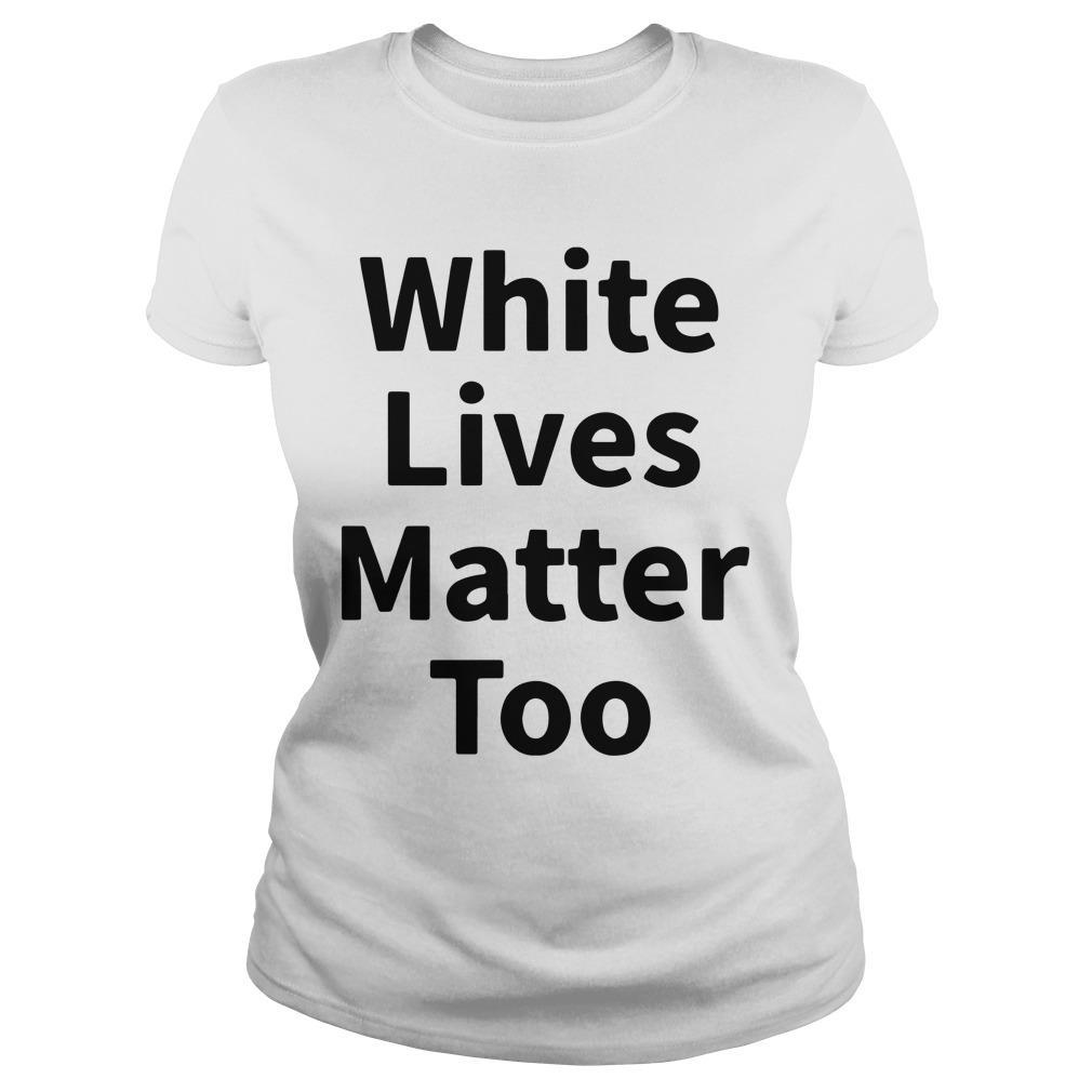 Abilene Black Man White Lives Matter Too Longsleeve