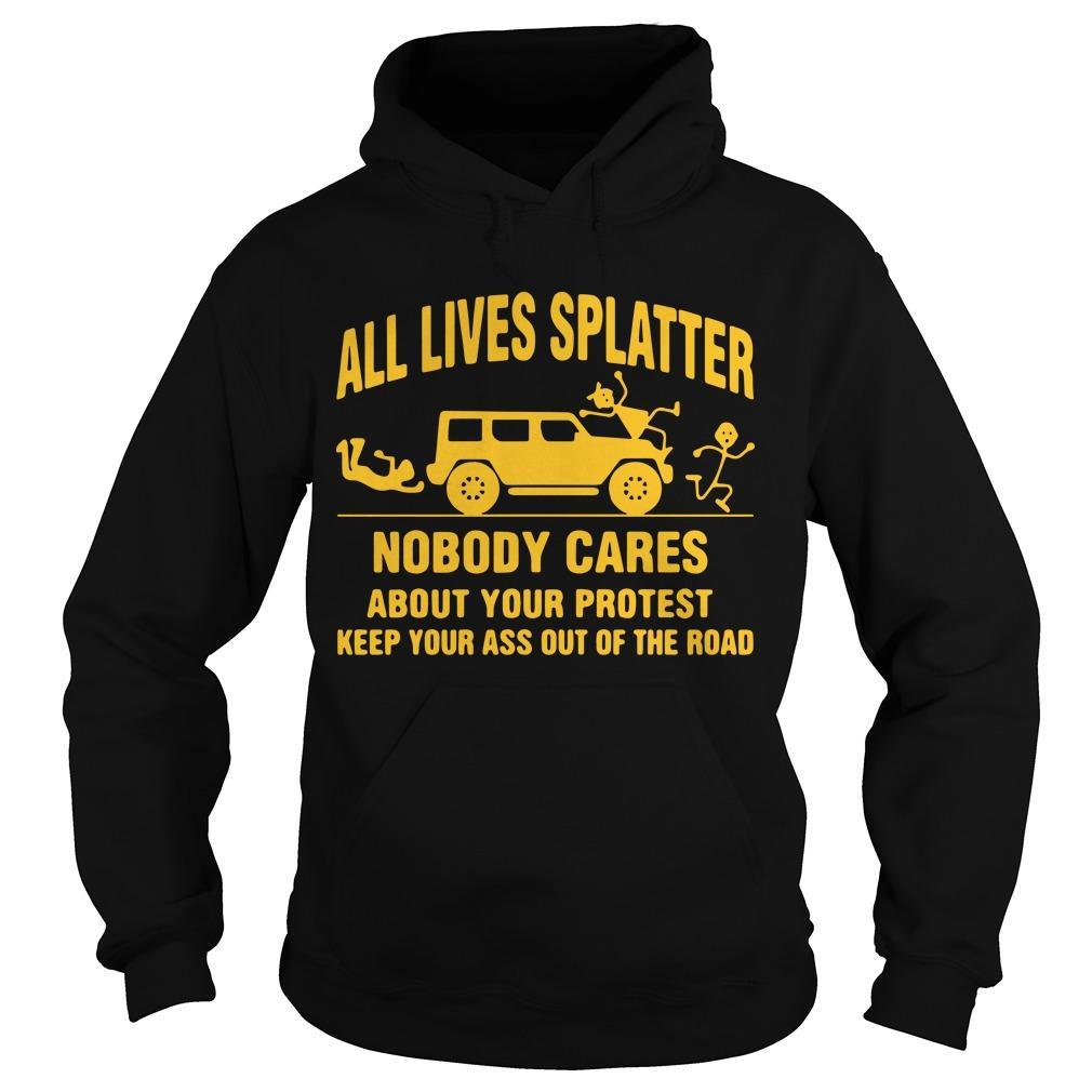 All Lives Splatter T Hoodie