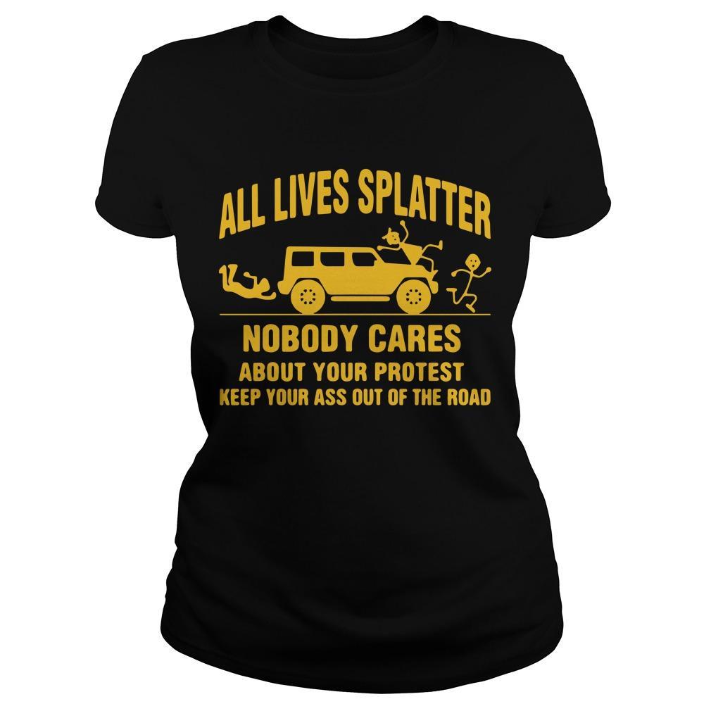 All Lives Splatter T Longsleeve