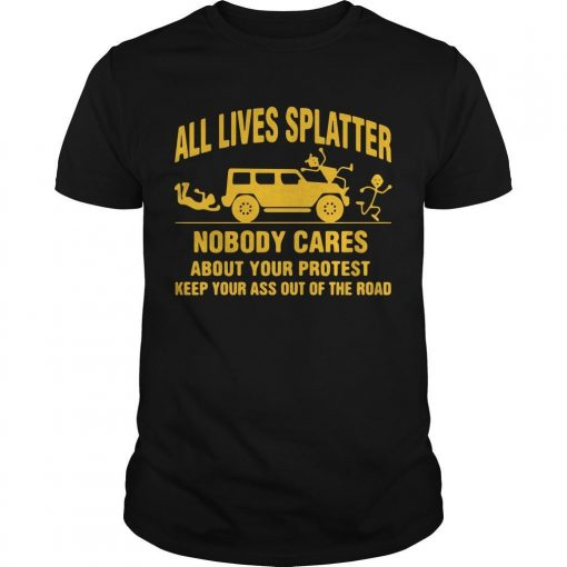 All Lives Splatter T Shirt