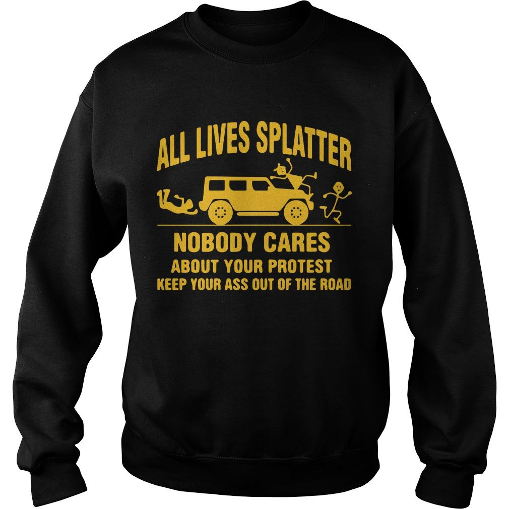 All Lives Splatter T Sweater
