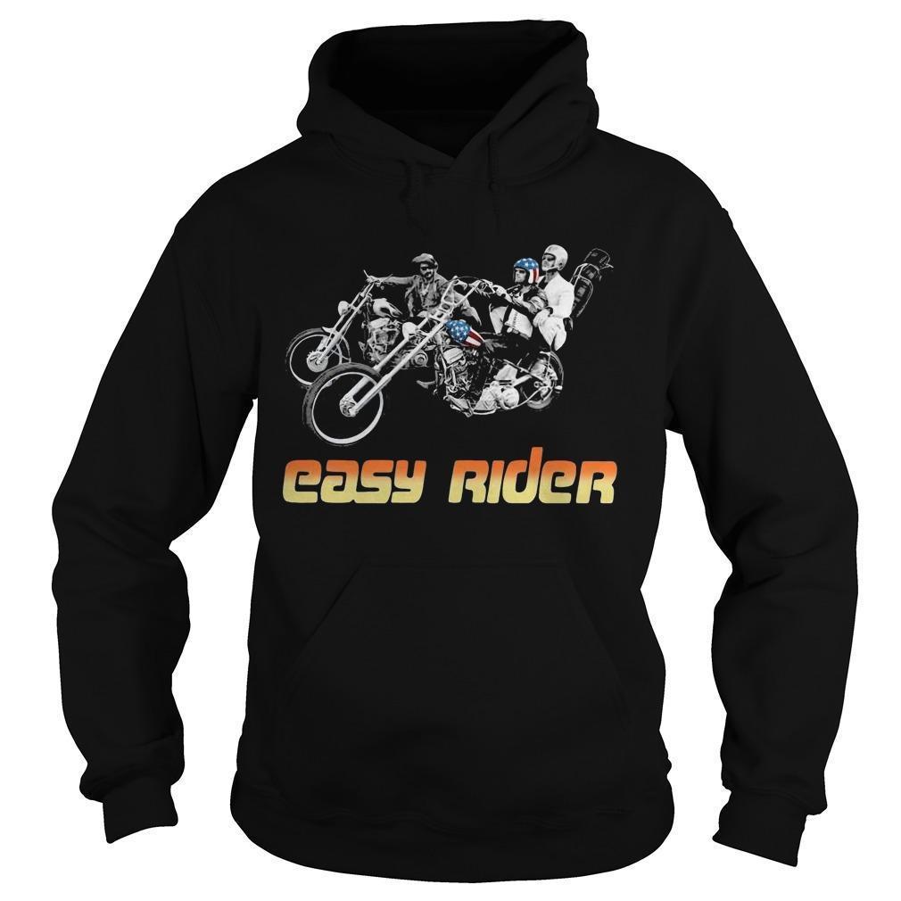 American Flag Easy Rider Hoodie