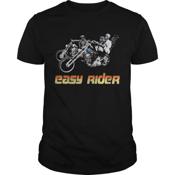 American Flag Easy Rider Shirt