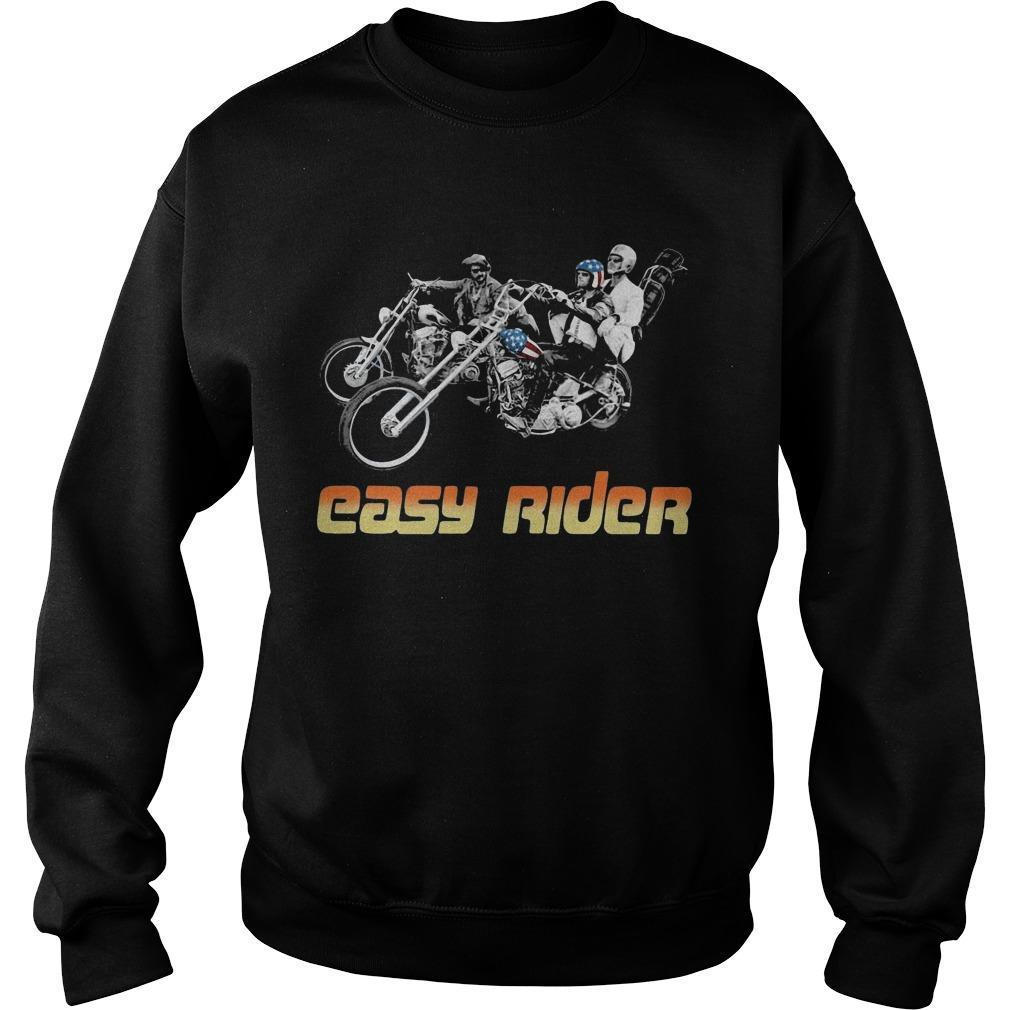 American Flag Easy Rider Sweater