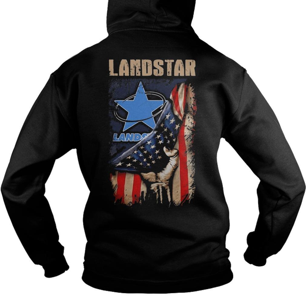American Flag Landstar Hoodie