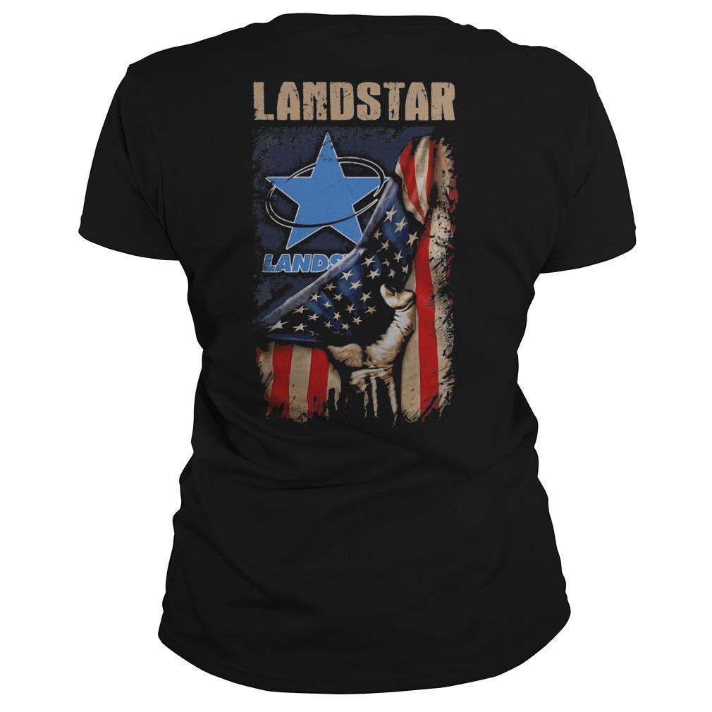 American Flag Landstar Longsleeve