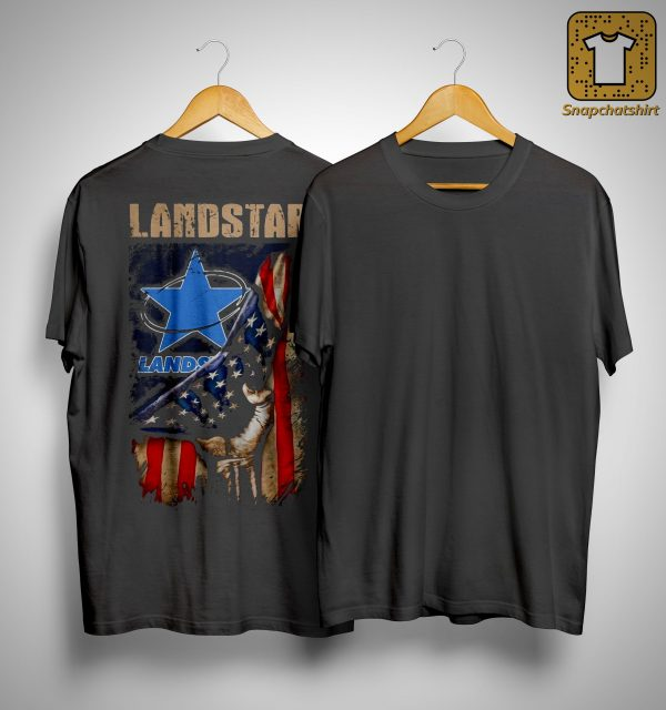 American Flag Landstar Shirt