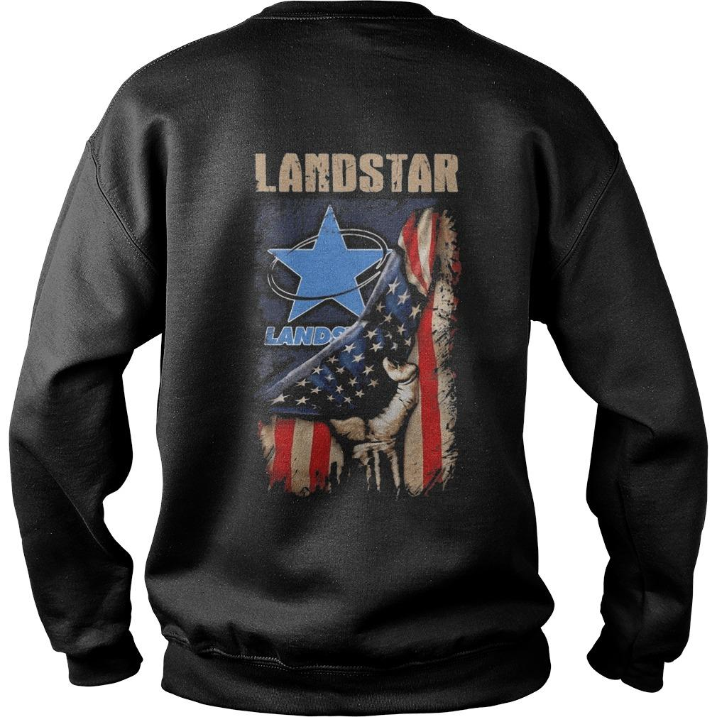 American Flag Landstar Sweater