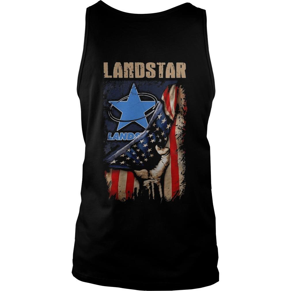 American Flag Landstar Tank Top