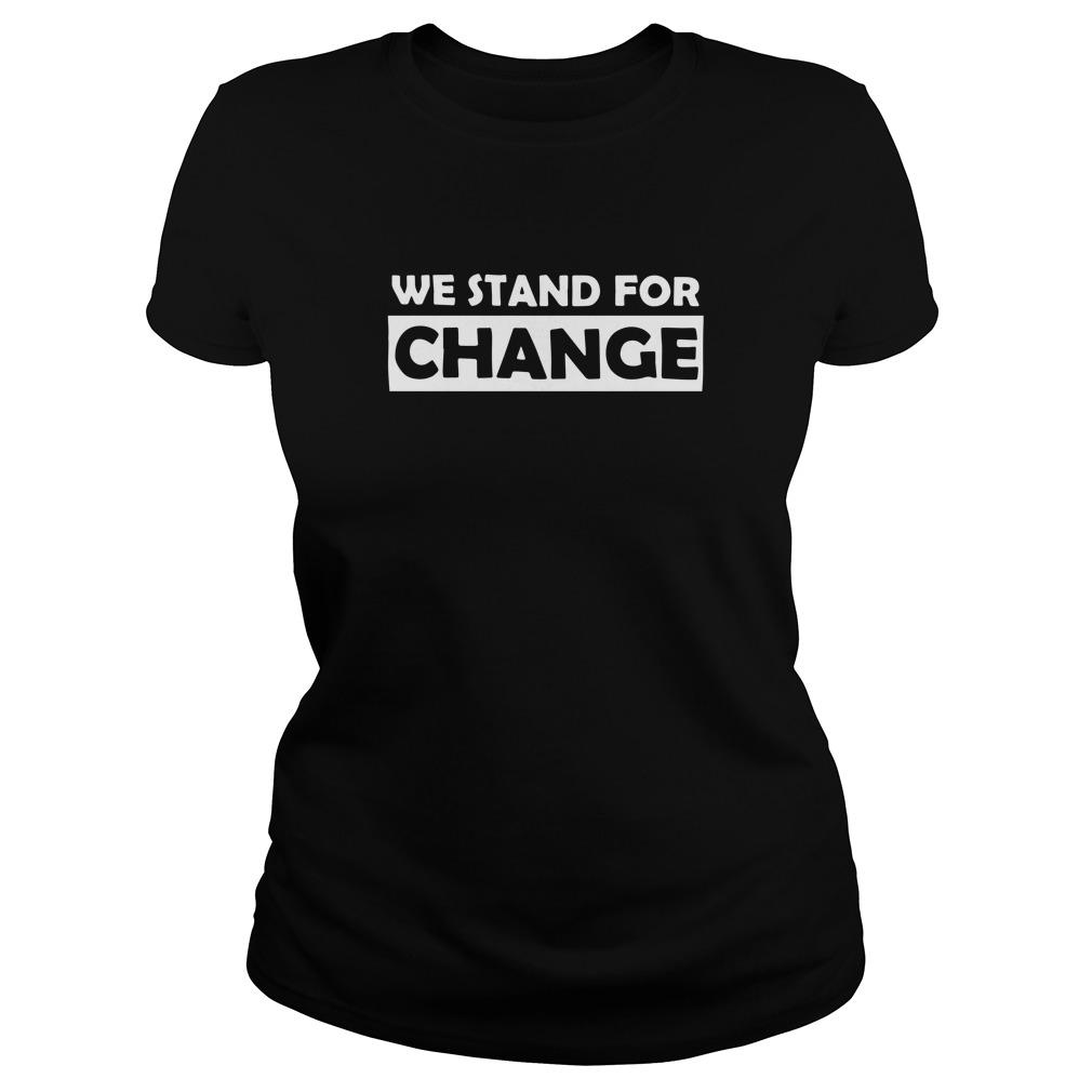 Arsenal We Stand For Change Longsleeve