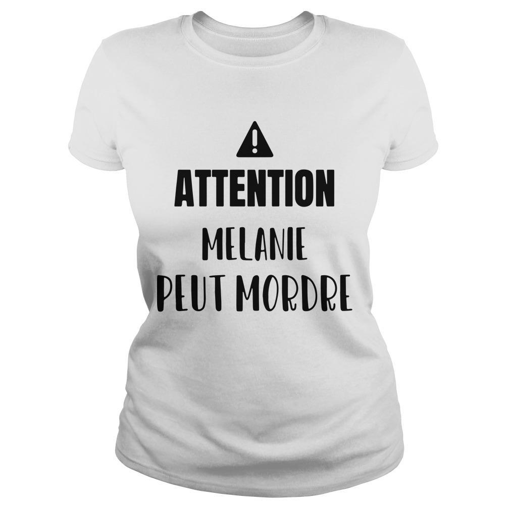 Attention Melanie Peut Mordre Longsleeve