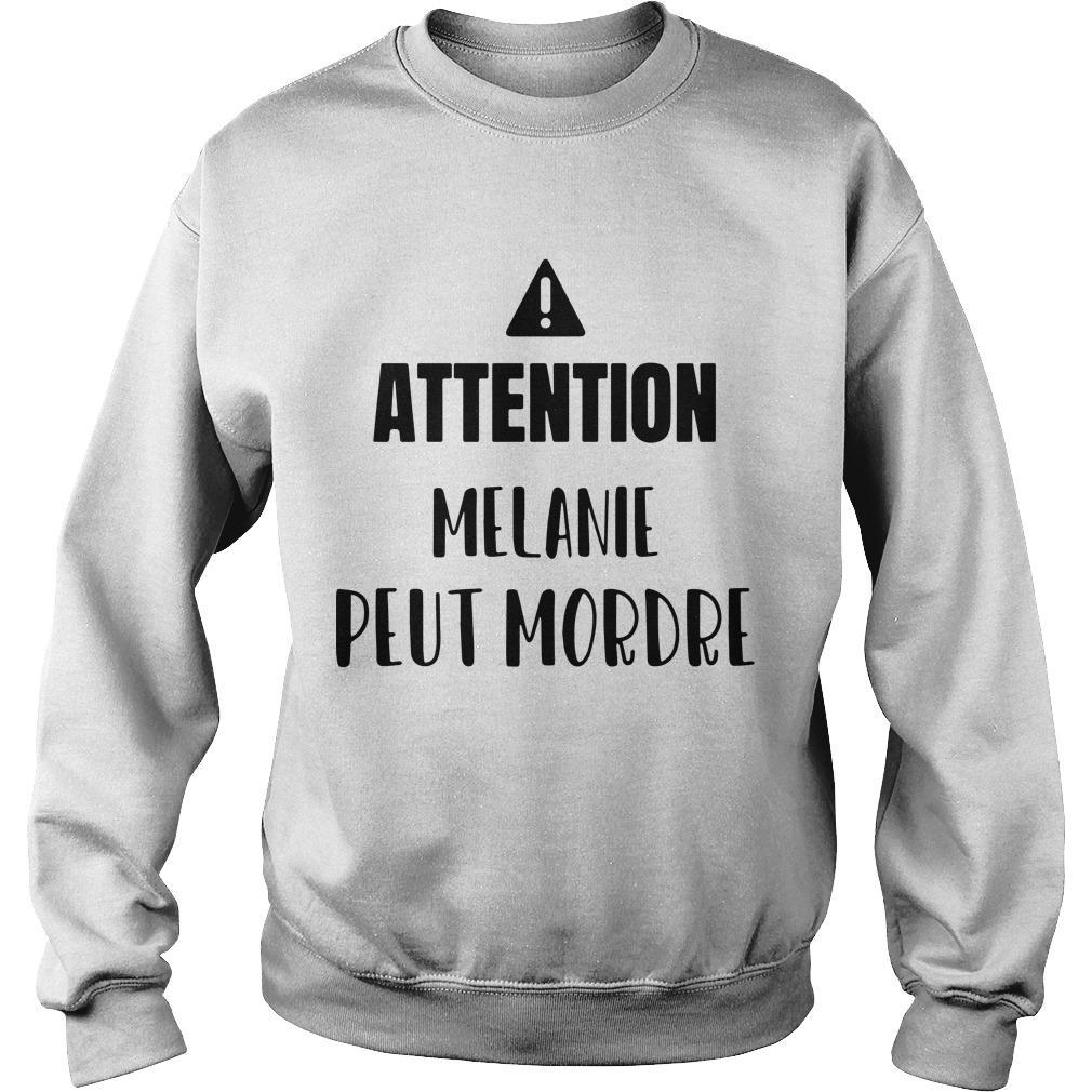 Attention Melanie Peut Mordre Sweater