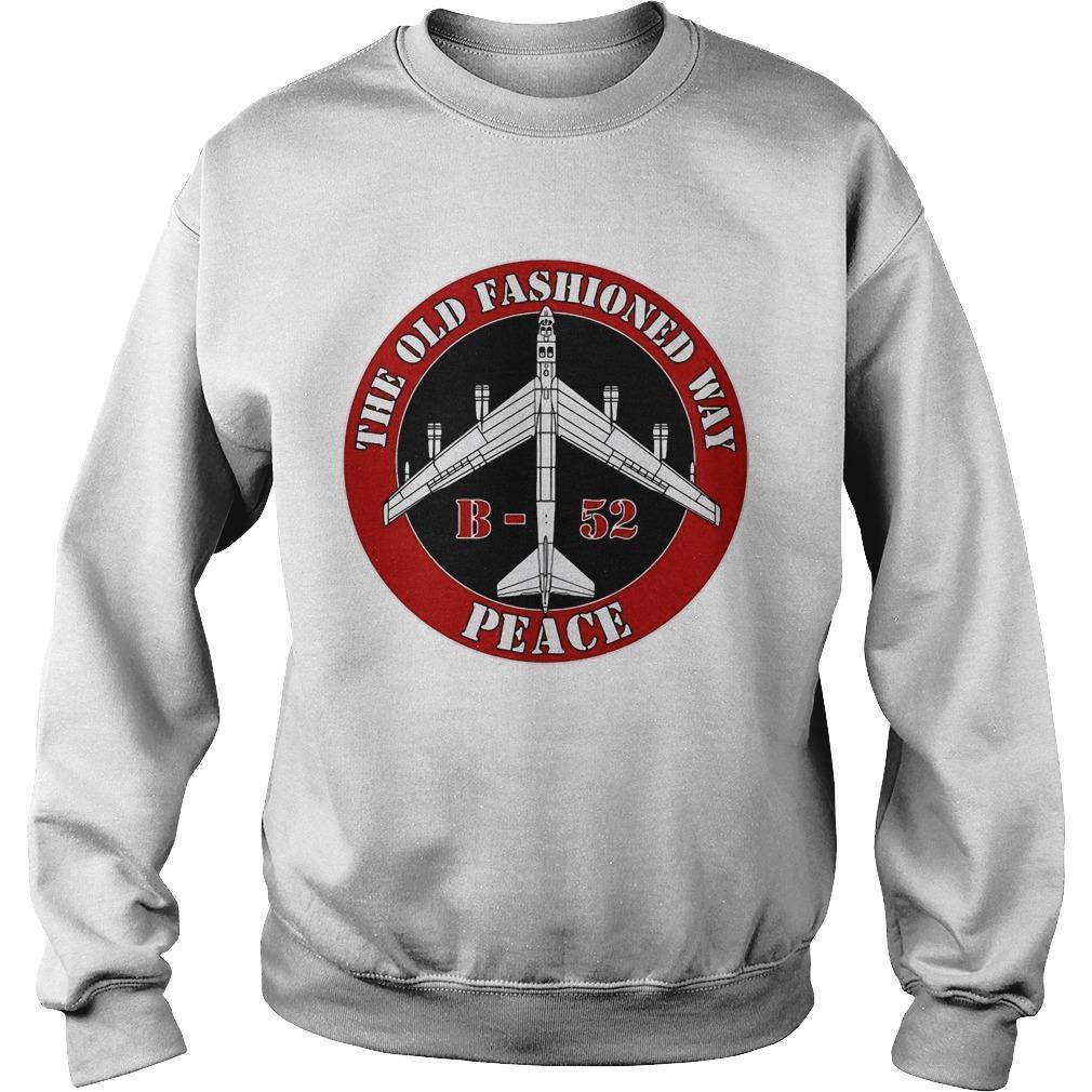 B52 The Old Fashioned Way Peace Sweater