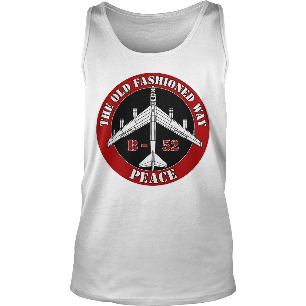B52 The Old Fashioned Way Peace Tank Top