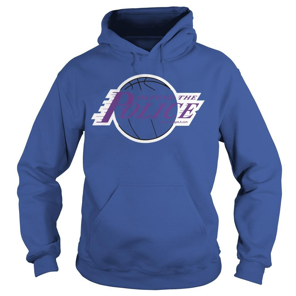 Basketball Defund The Police Hoodie