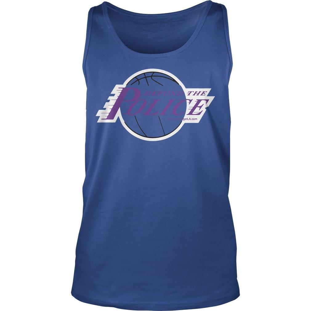 Basketball Defund The Police Tank Top