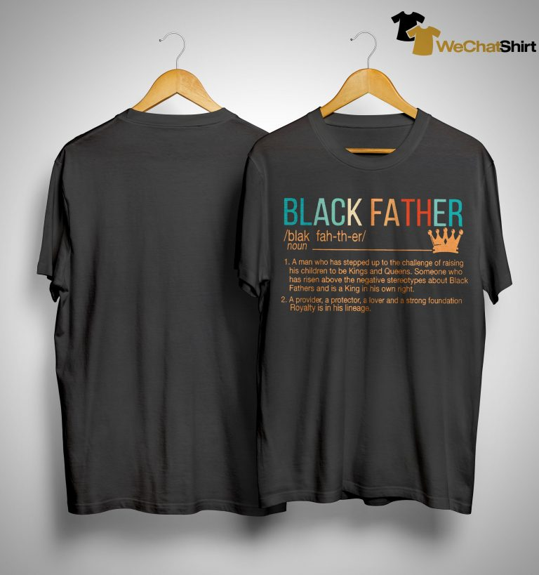 Black Father Shirt