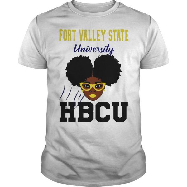 Black Girl Fort Valley State University My Hbcu Shirt