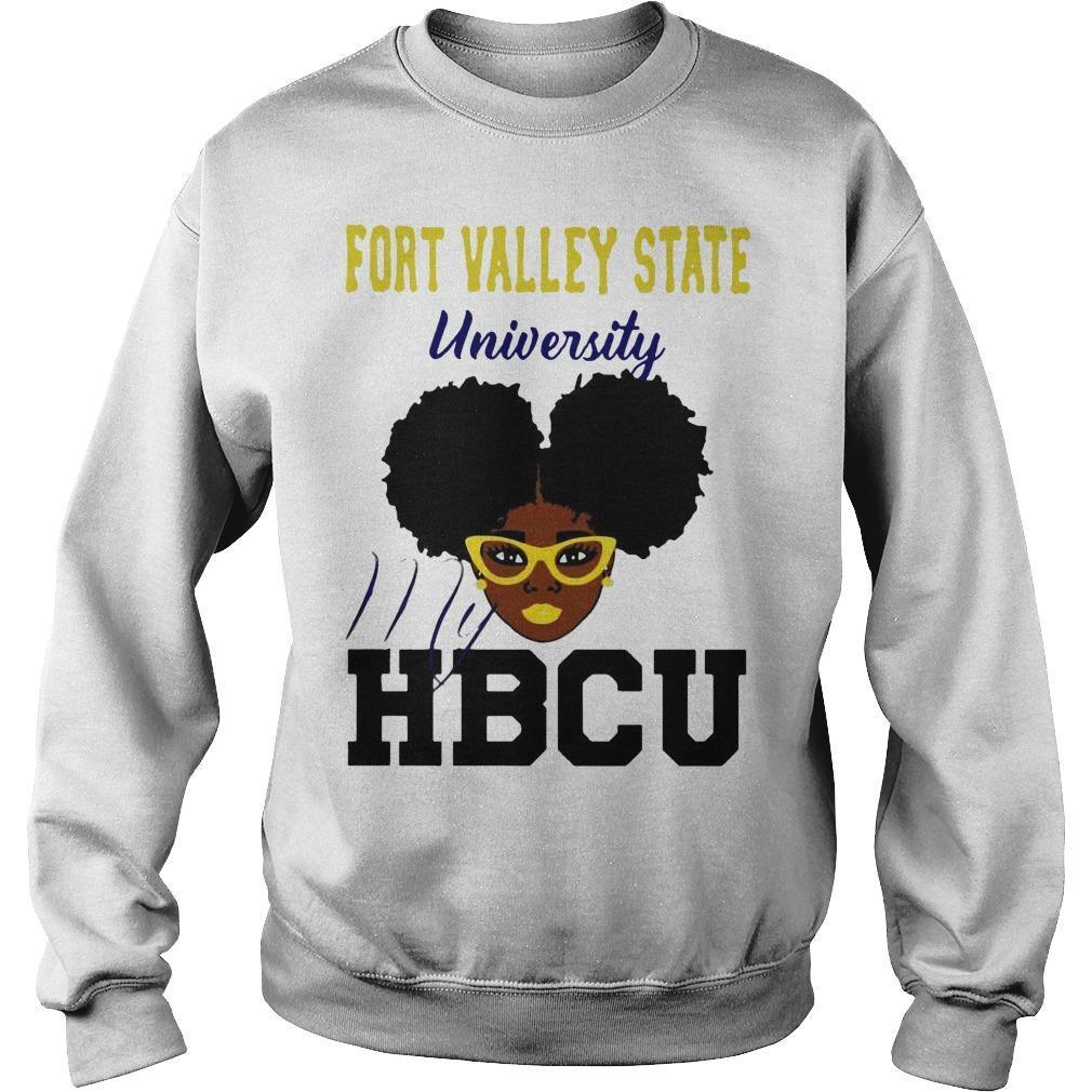 Black Girl Fort Valley State University My Hbcu Sweater