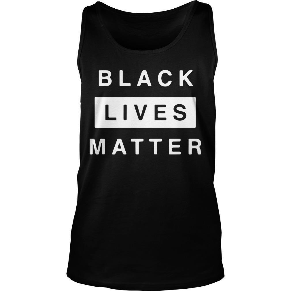 Black Lives Matter Donation Tank Top
