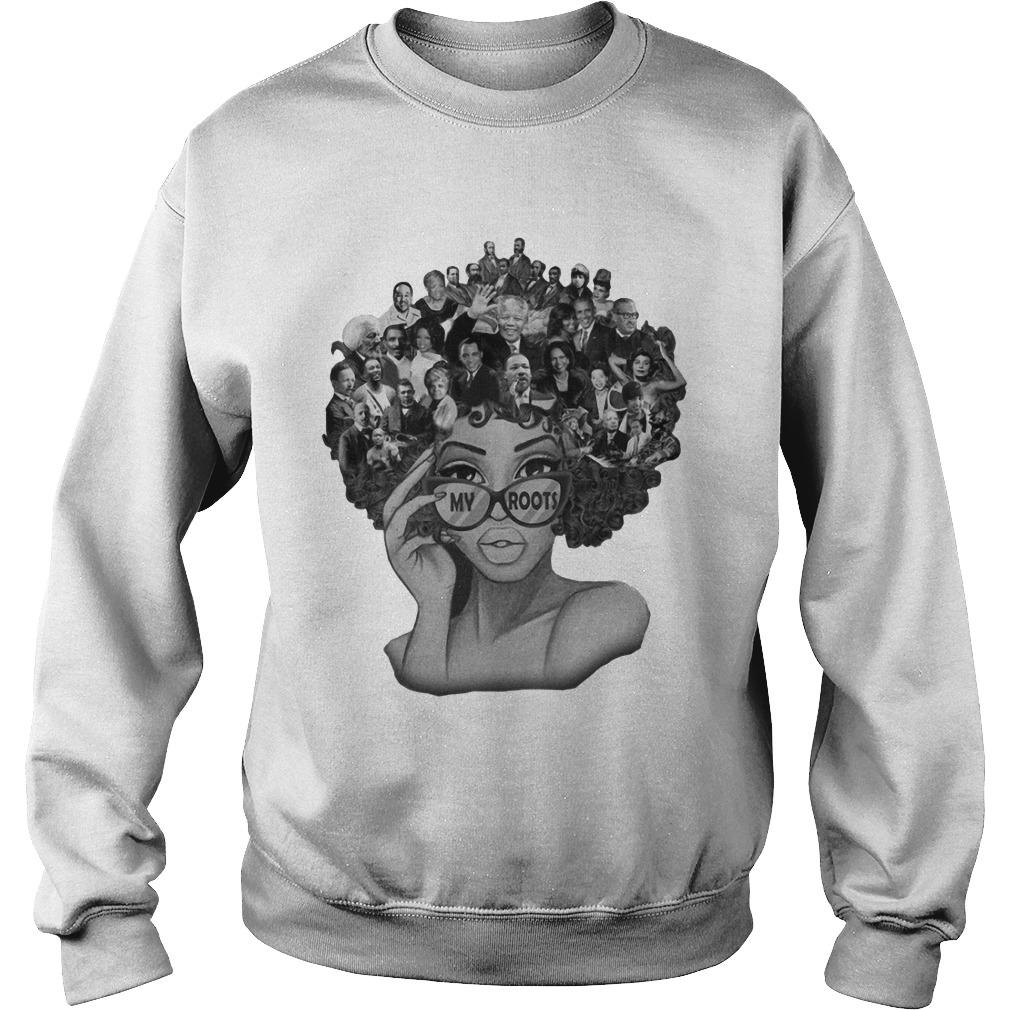 Black Lives Matter My Roots Sweater