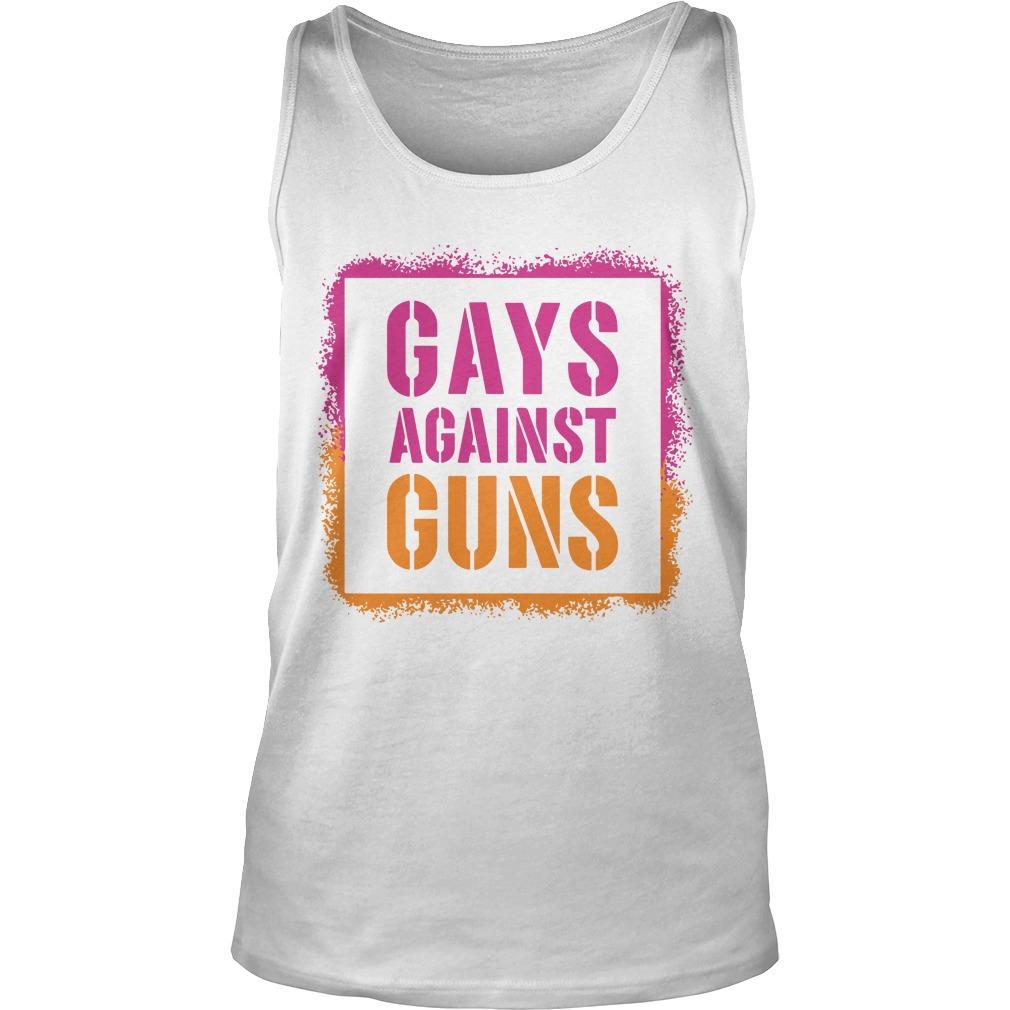 Brandon Straka Gays Against Guns Tank Top