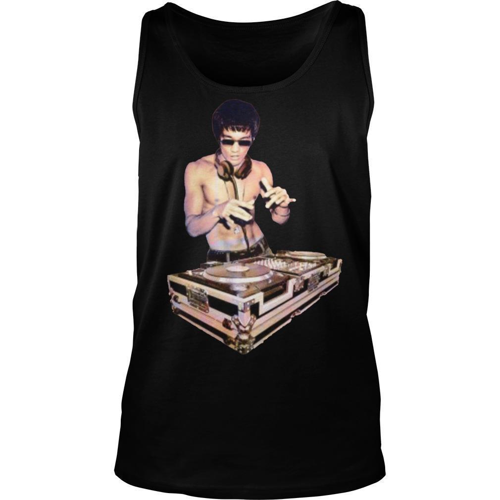 Bruce Lee T Dj Tank Top