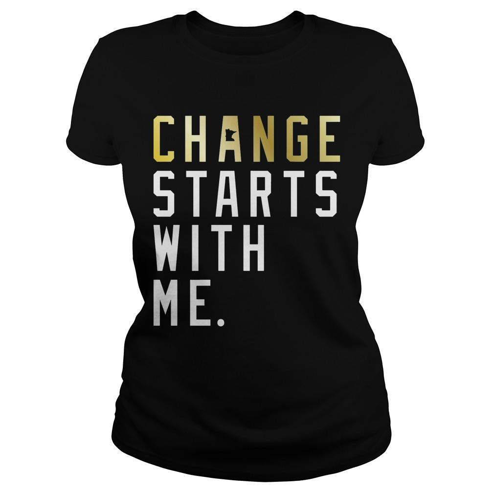 Change Starts With Me Longsleeve