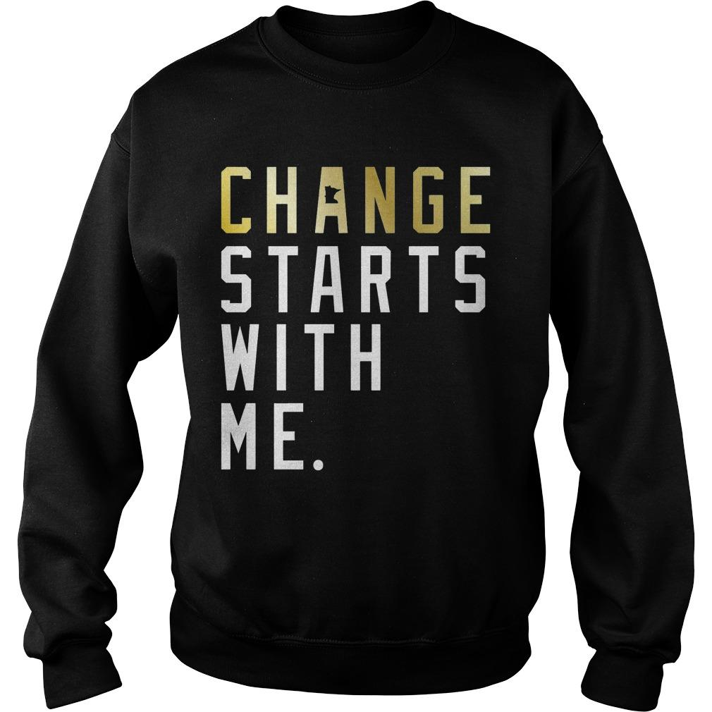 Change Starts With Me Sweater