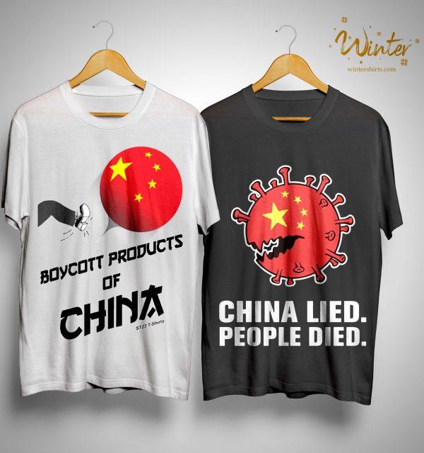 China Manufacturing Boycott China T Shirt