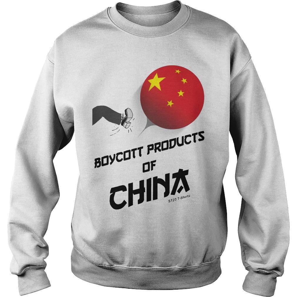 China Manufacturing Boycott China T Sweater