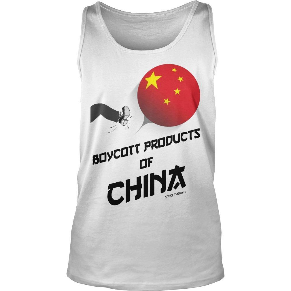 China Manufacturing Boycott China T Tank Top