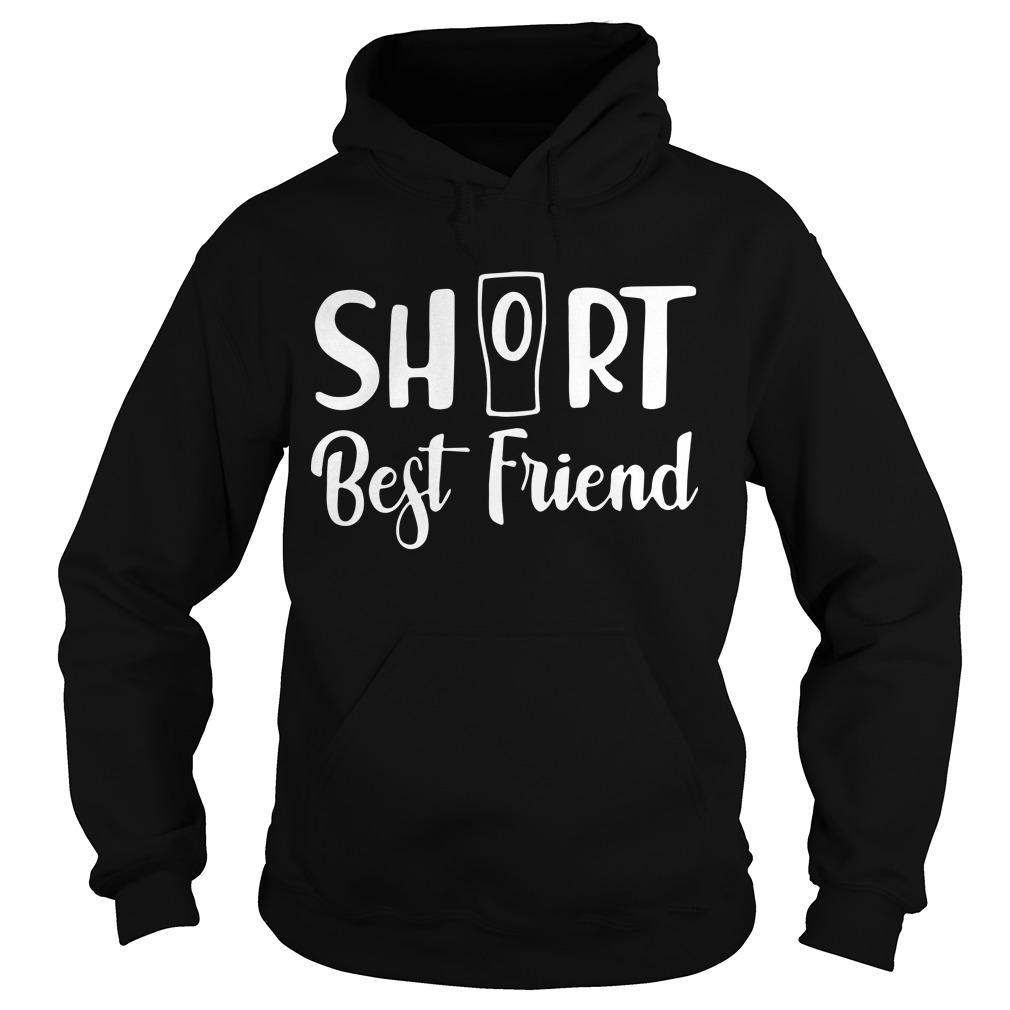 Cup Short Best Friend Hoodie