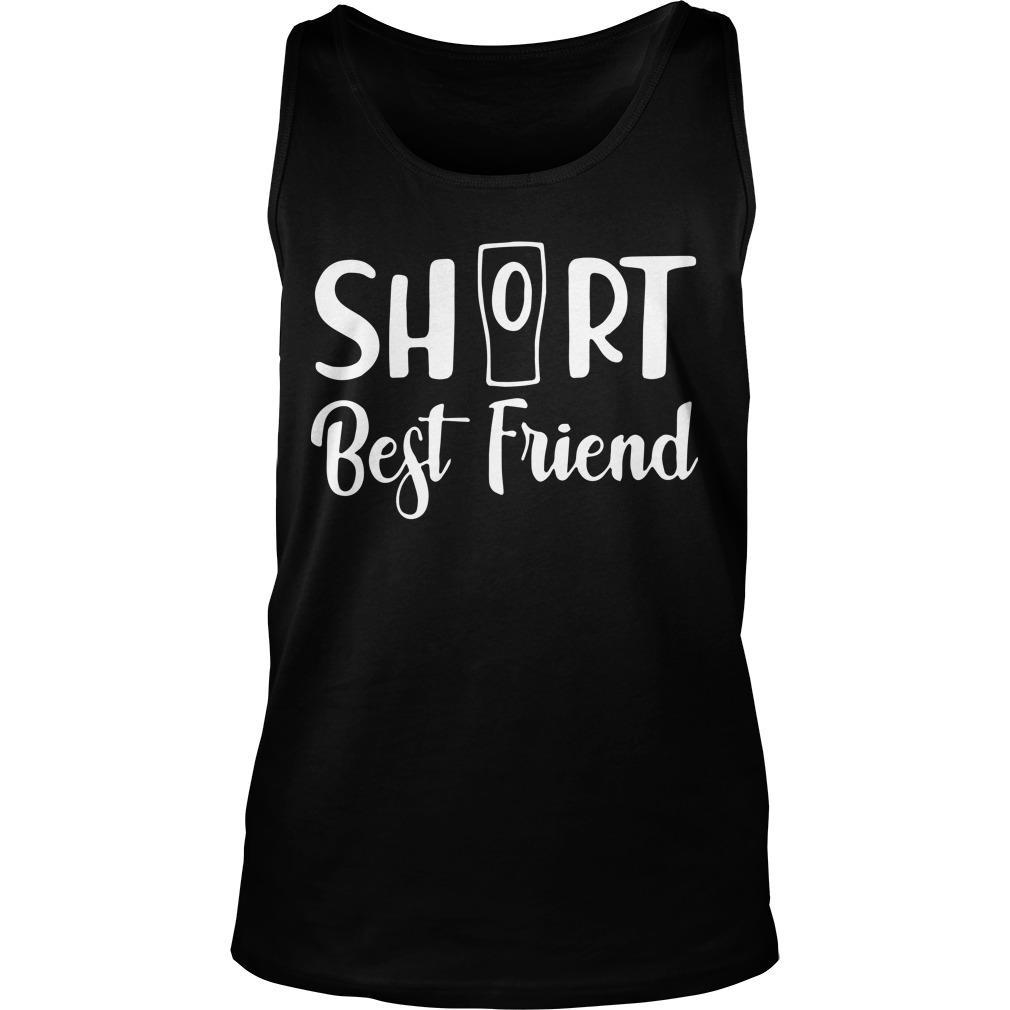 Cup Short Best Friend Tank Top