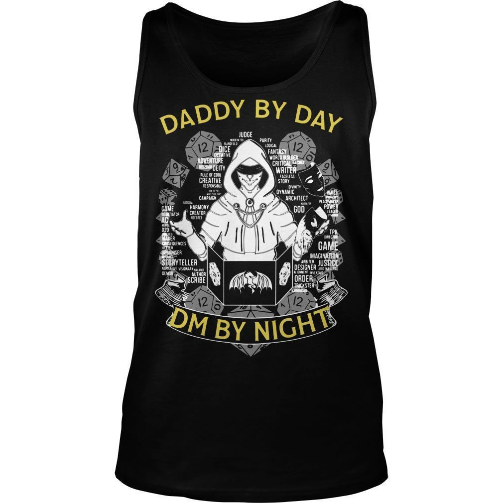 Daddy By Day Dm By Night Tank Top