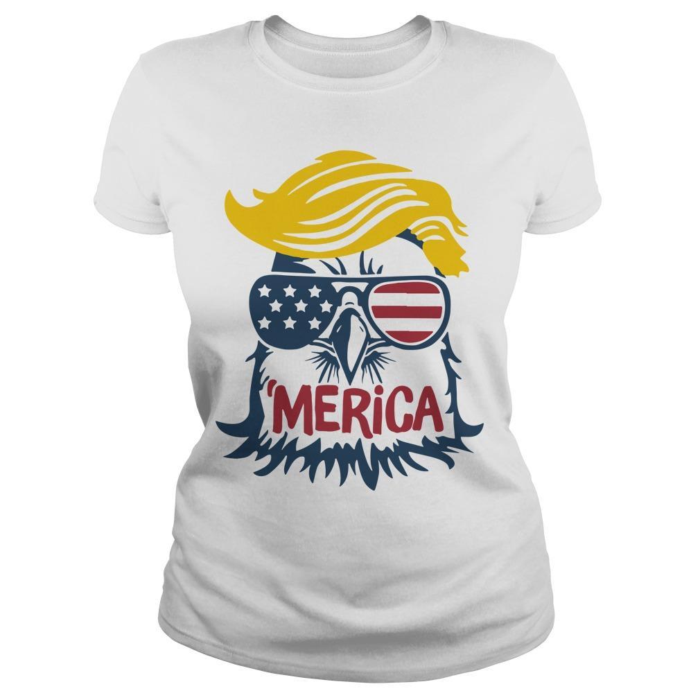 Donald Trump Engle 'merica Longsleeve