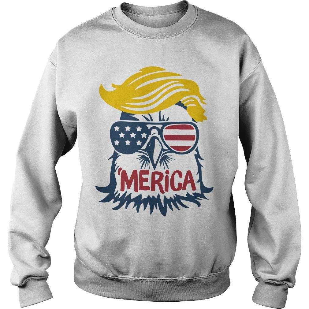 Donald Trump Engle 'merica Sweater