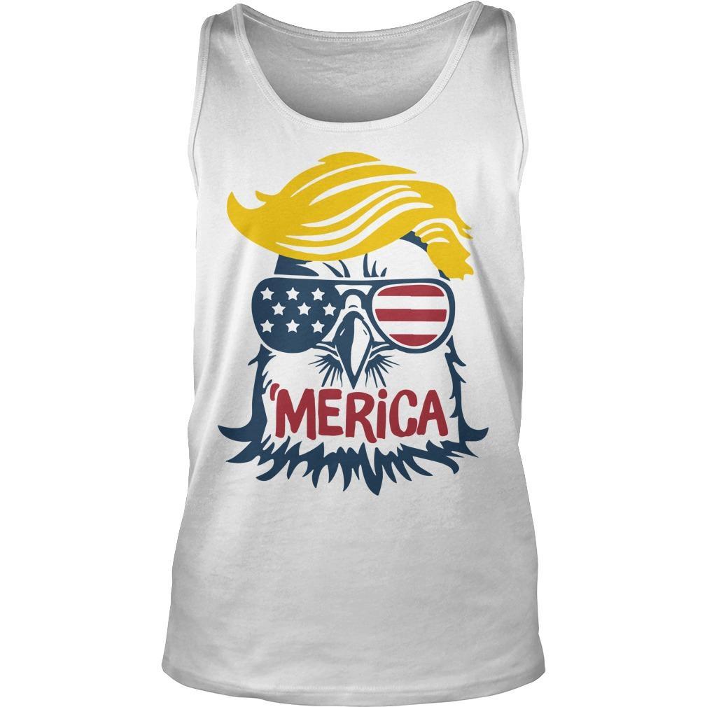 Donald Trump Engle 'merica Tank Top