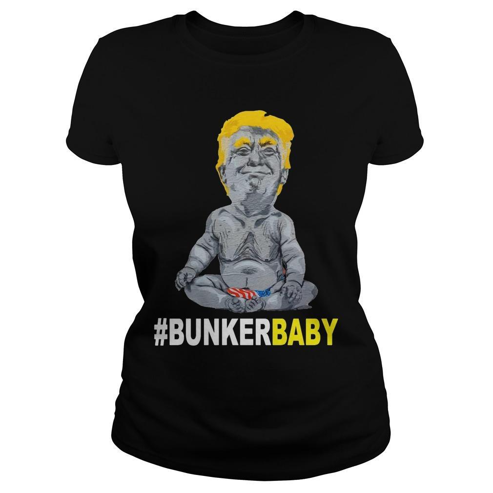 Donald Trump #bunkerbaby Longsleeve