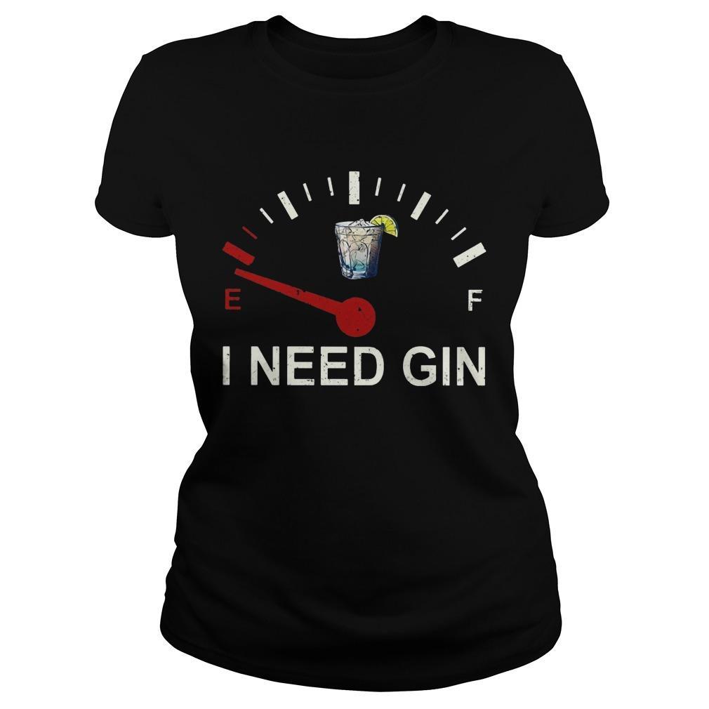 E F I Need Gin Longsleeve