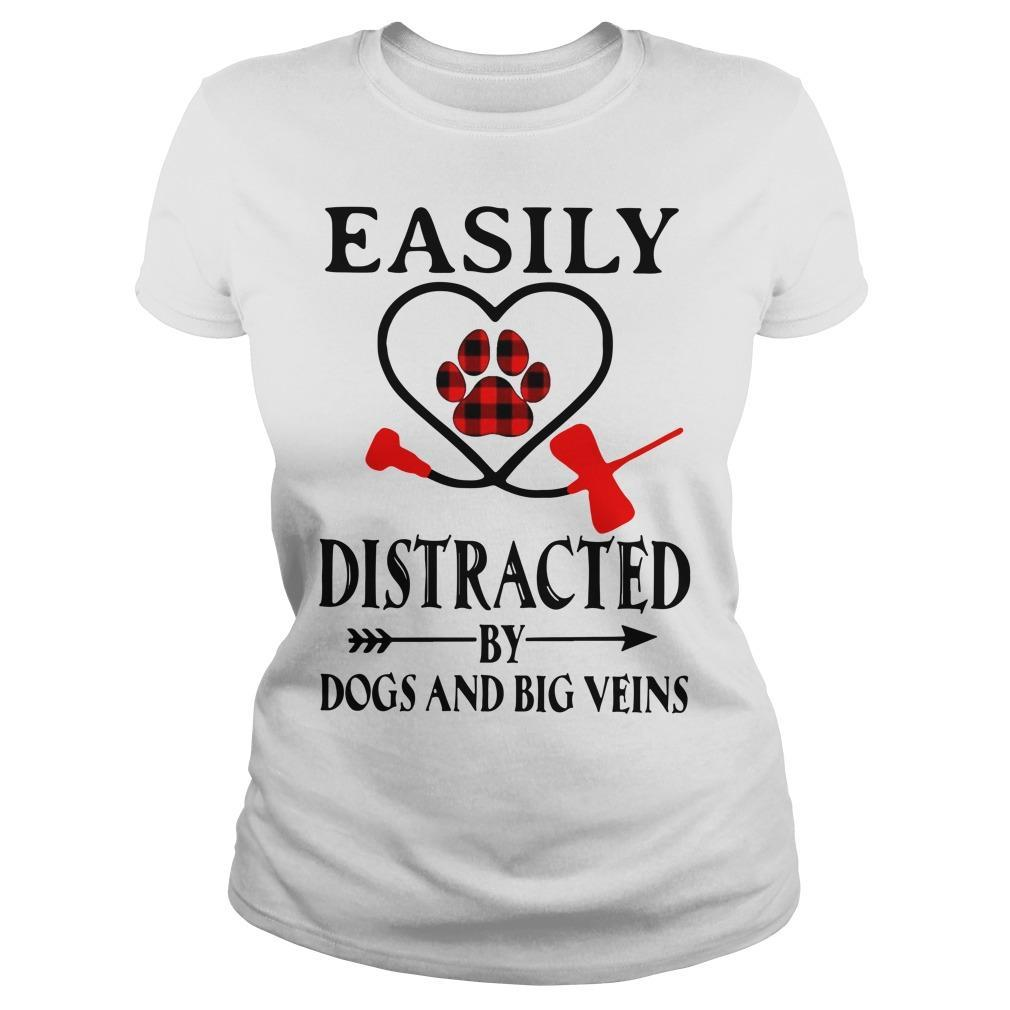 Easily Distracted By Dogs And Big Veins Longsleeve