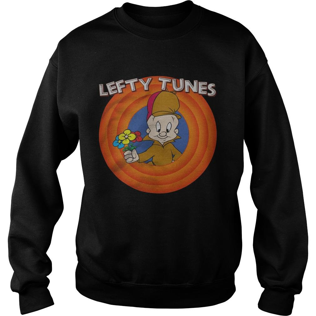 Elmer Fudd Lefty Tunes Sweater