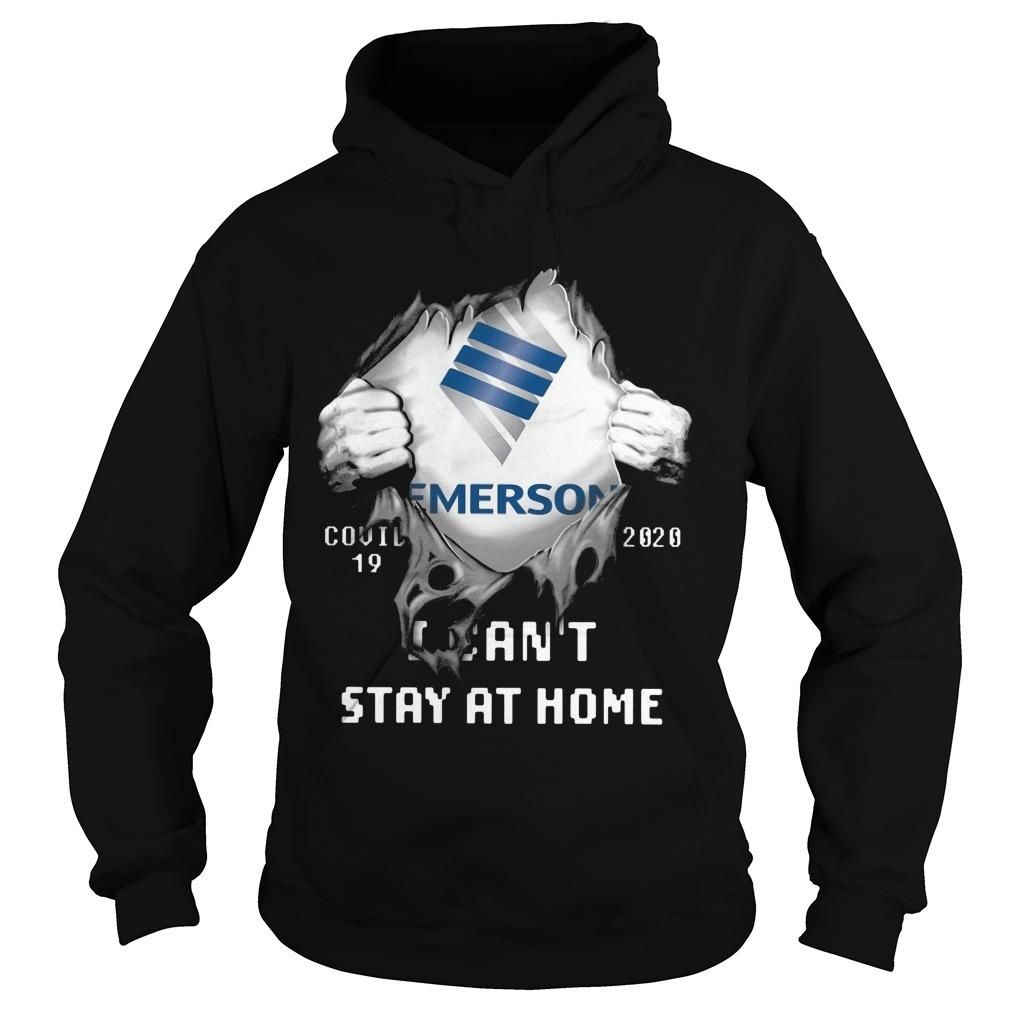 Emerson Covid 19 2020 I Can't Stay At Home Hoodie
