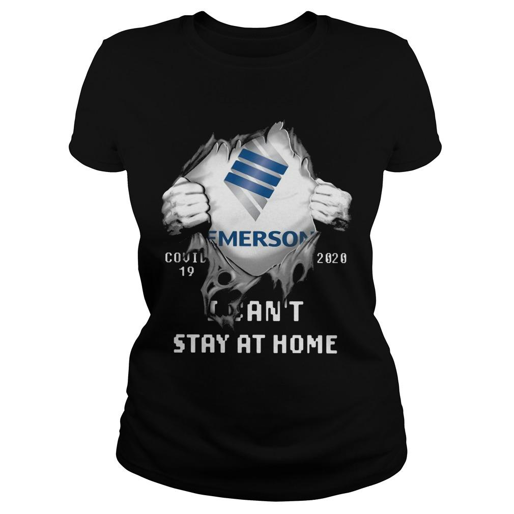 Emerson Covid 19 2020 I Can't Stay At Home Longsleeve