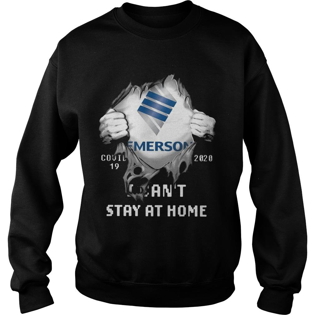 Emerson Covid 19 2020 I Can't Stay At Home Sweater