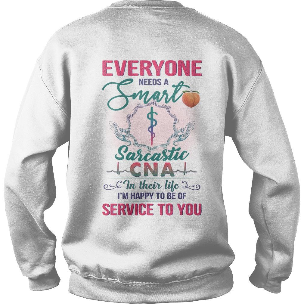 Everyone Needs A Smart Sarcastic Cna In Their Life Sweater